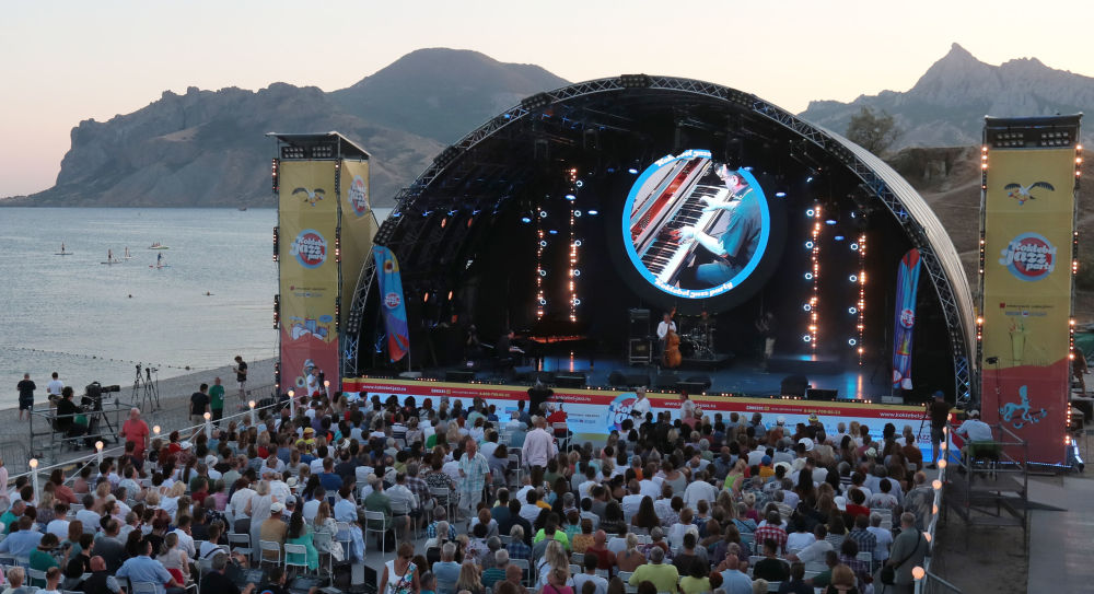 Accreditation for the 18th jazz season in Koktebel open