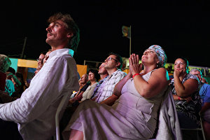 The audience at the 16th Koktebel Jazz Party international music festival