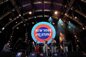 The New York All Stars perform at the 16th Koktebel Jazz Party international music festival