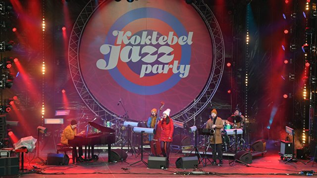 Koktebel Jazz Party at Crimean Spring festival in Moscow